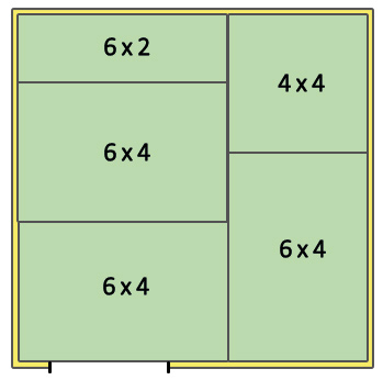 Stable Layout 10x10