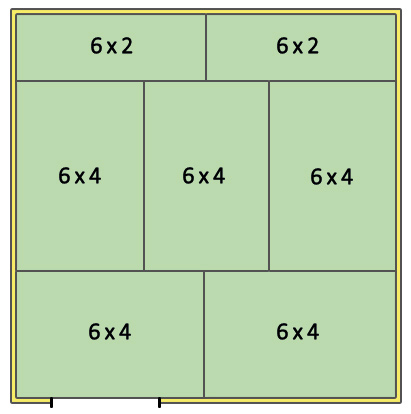Stable Layout 12x12
