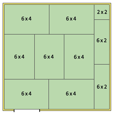 Stable Layout 14x14